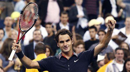 Федерер вече има 224 победи в Големия шлем и е на 10 от рекорда на Джими Конърс